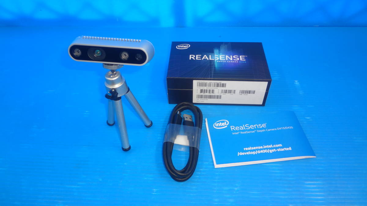 1円~ ○intel RealSense Depth Camera D435 中古品 の落札情報