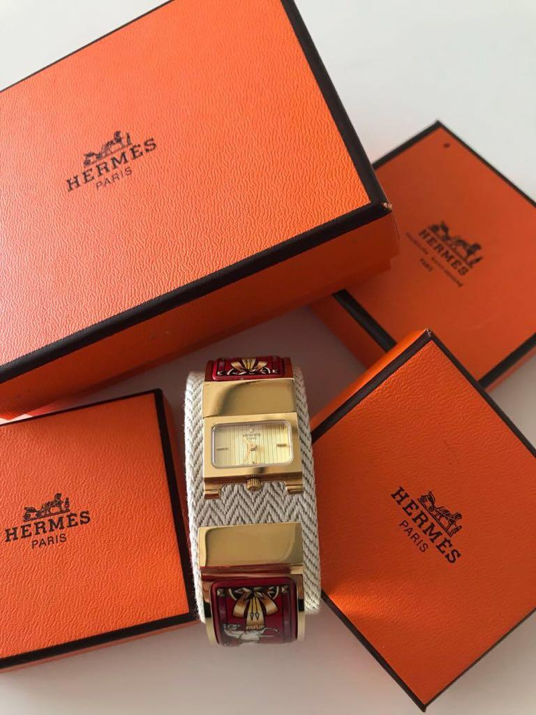 online store 671d3 ff94e 新品】【未使用・美品】 HERMES エルメスレディース 腕時計 ...