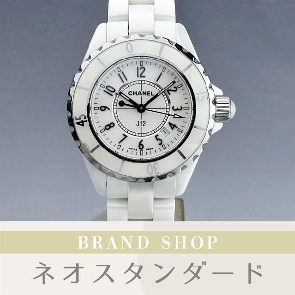 low priced 8f08f f310d 中古】1円~ シャネル J12 レディース 腕時計 H0968 クオーツ ...