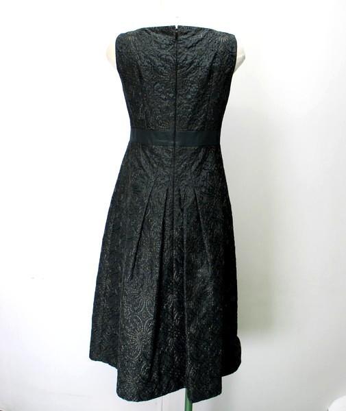 b92bfa3717763 ... 90□Sybilla□シビラ□サテン ノースリーブ ワンピース 緑 ドレス  美品  レディース ...