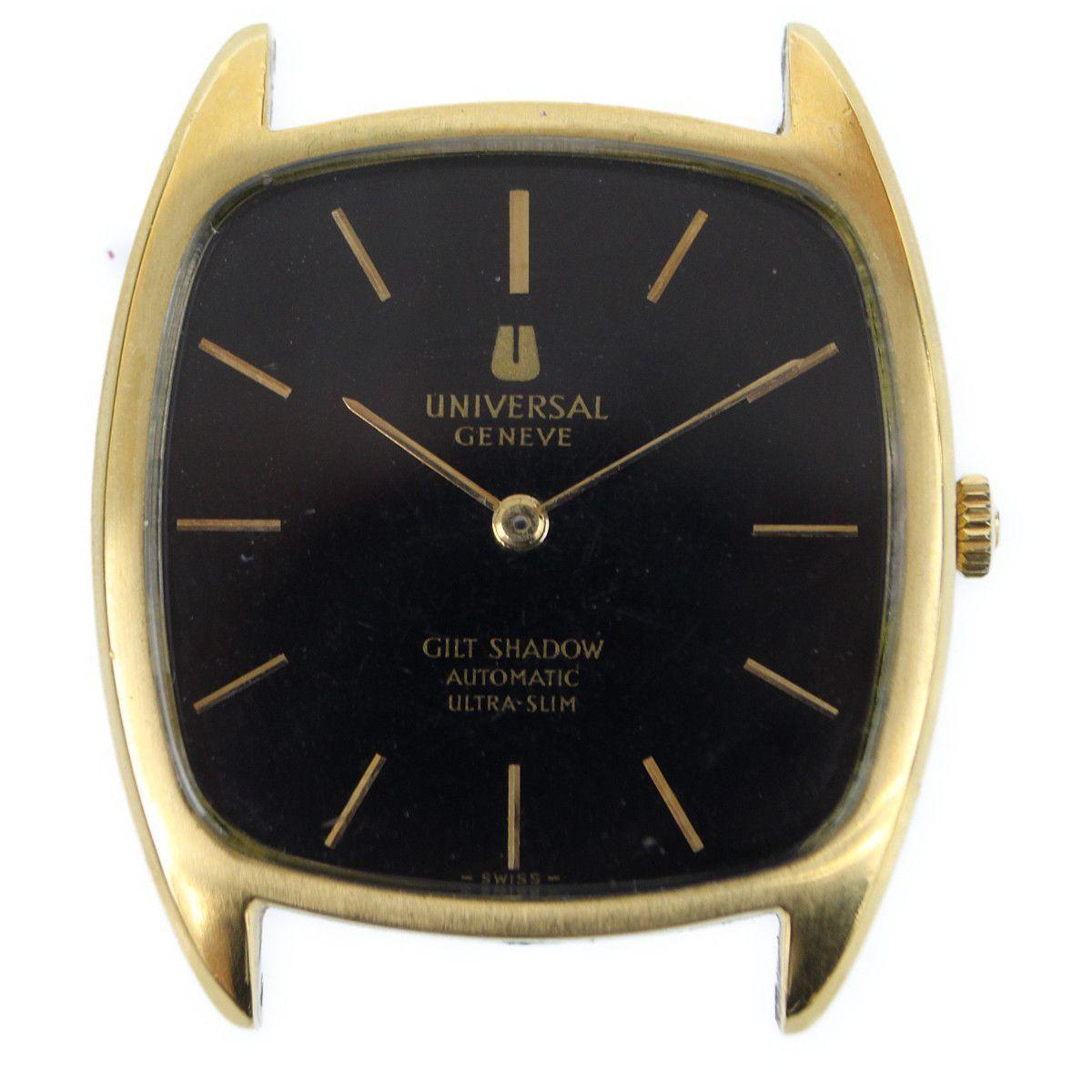 3a61e543939b 1円~ Universal Geneve ユニバーサルジュネーブ ギルトシャドウ ウルトラスリム 本体のみ 腕時計 自動巻き