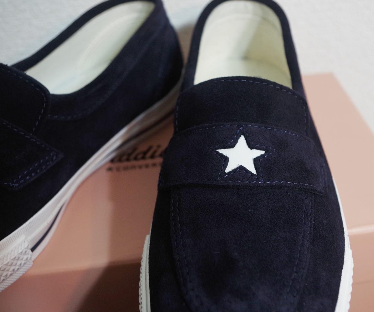 03eef7900f99 converse addict コンバース アディクト ONE STAR LOAFER ワンスター ローファー 復刻 navy 27cm 国内正規 新品