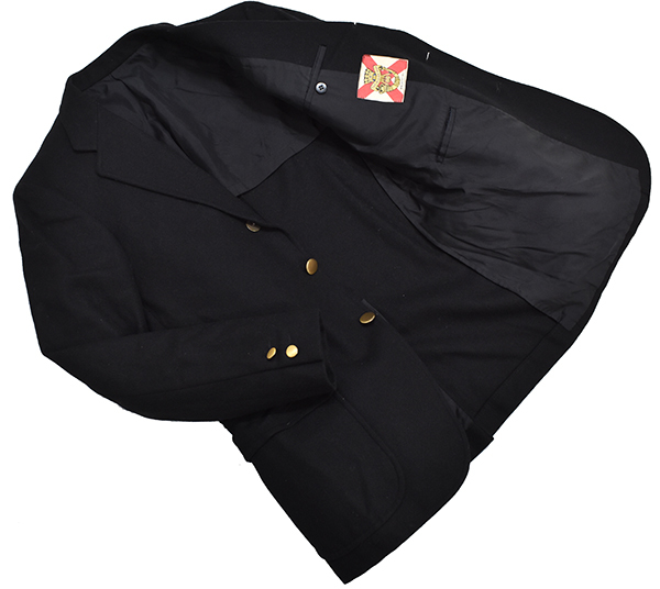 64858215a933d ... 希少◎ 旧ヴァンヂャケット VAN JAC エンブレム刺繍 メルトンウール テーラードジャケット  ...