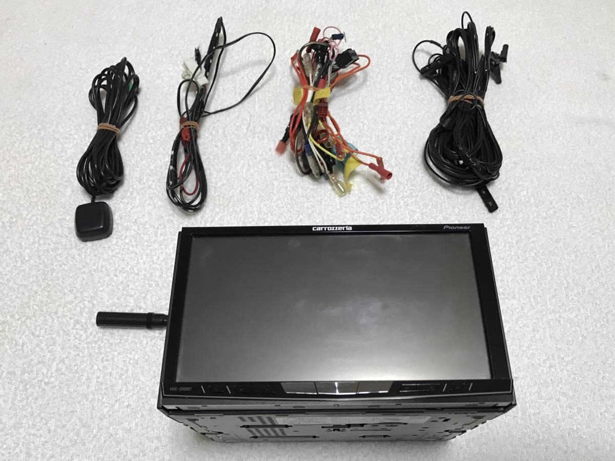 c3a36212a5 カロッツェリア HDDサイバーナビ AVIC-ZH0007 地デジ内蔵 DVD SD CD Bluetooth フルセグ