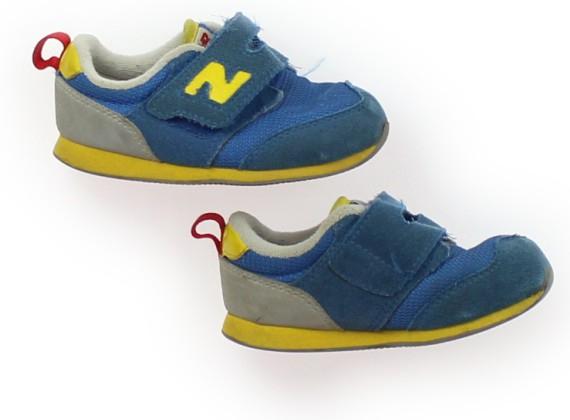 26c881b00fb9d ... ニューバランス New Balance スニーカー 靴14cm~ 男の子 青 子供服 ベビー服 キッズ(346272)