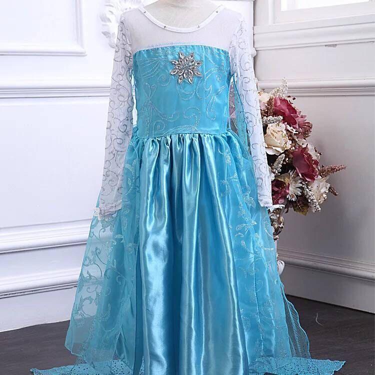 615a49d69a83a FK316送料無料ディズニープリンセスアナ雪エルサキッズ子どもお姫様コスチューム エルサドレス 子供用ドレス