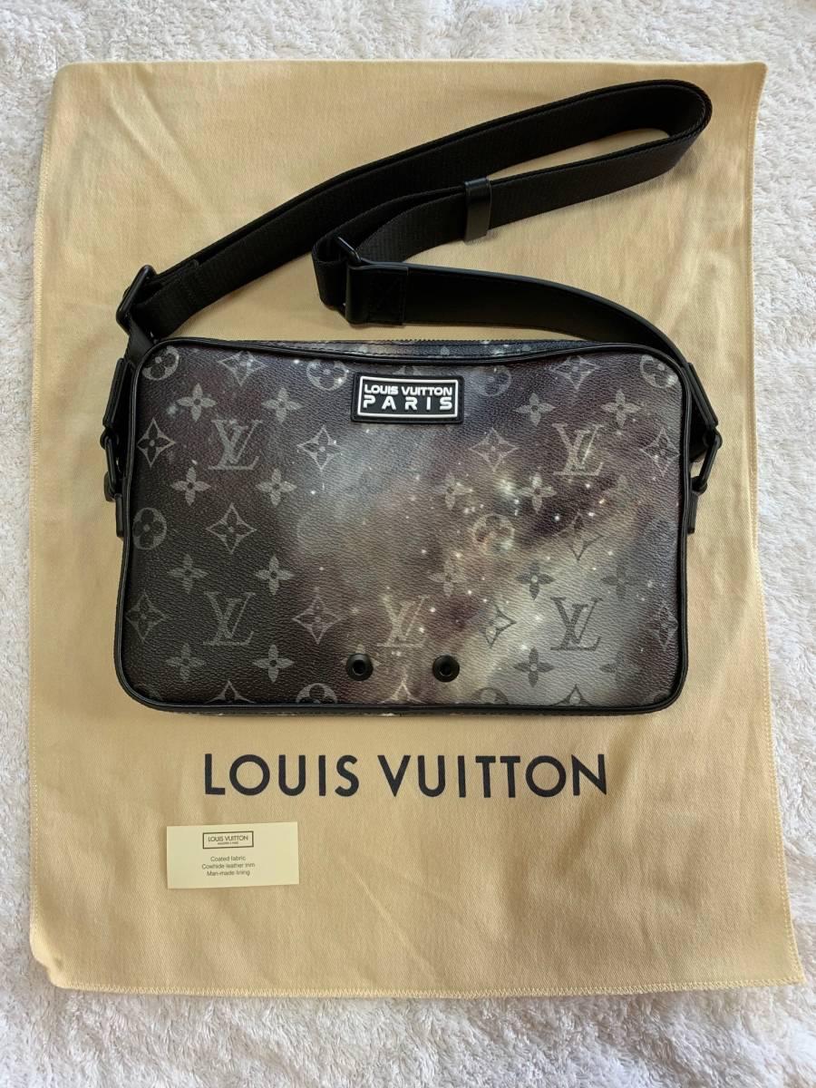 4dc497c6229a Louis Vuitton ルイ ヴィトン 2019春夏 プレコレクション 「アルファ・メッセンジャー」M44165 ギャラクシー