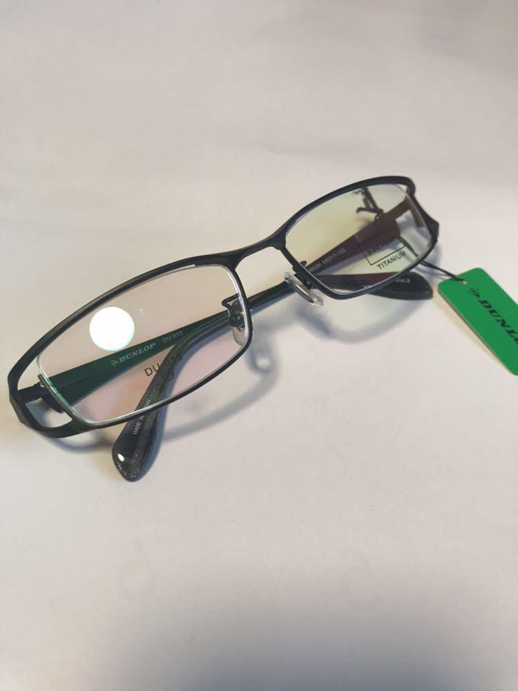 fad5e5df06fa 新品 大特価 DUNLOP ダンロップ DU-013 日本製 メガネフレーム 超かっこいい 黒縁 マット