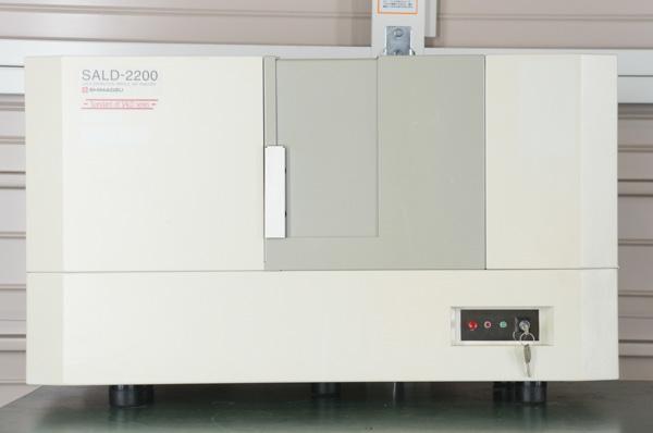 中古 shimadzu sald 2200 レーザ回折式粒度分布測定装置 rv99 の