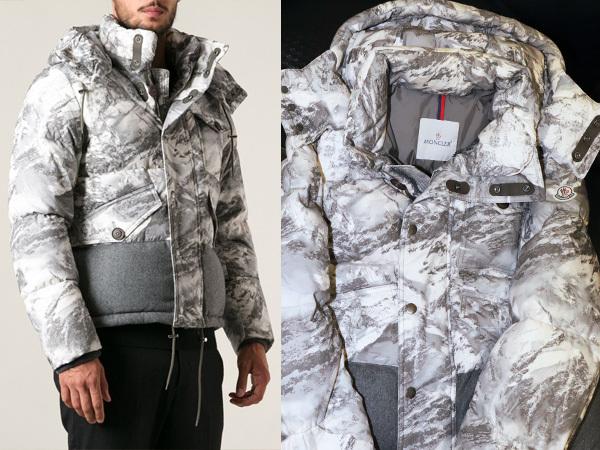 39092c8c23a8 モンクレール MONCLER 完売 幻のスノーカモフラージュ雪山迷彩ダウンジャケット EVETTES メンズ2 紳士服