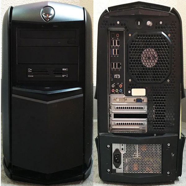 ジャンク品】CPU:i5-2400/HDD:160GB/メモリ:2GB/DVD/USB3 0/通電