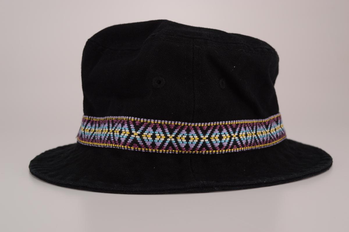 ee6f28e84d4 ...  セール品 STUSSY Folk Band Bucket Hat サイズL XL ブラック ステューシー ストック