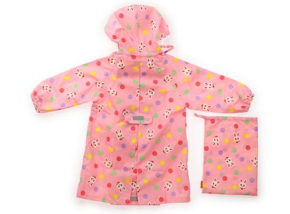 c3e68cf5d5159 ミキハウス mikiHOUSE レインコート・レインハット 90 女の子 ピンク 子供服 ベビー服 キッズ(298244)