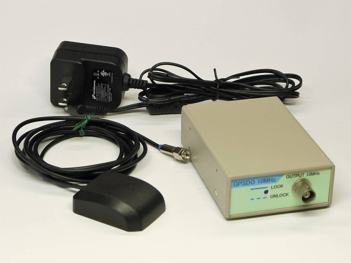 中古】□自作 簡易GPSDO 10MHz 基準周波数発振器 の落札情報詳細