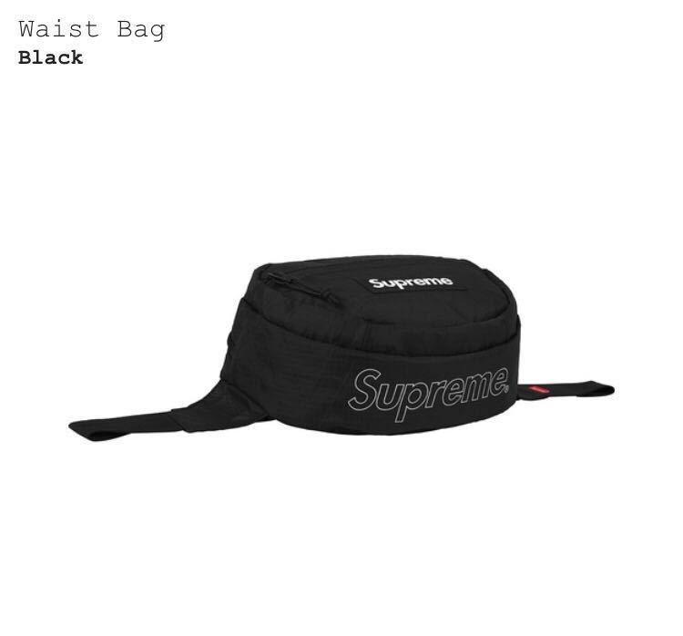 確実正規品 supreme 18aw waist bag ウエストバッグ box north シュプリームの1番目の d39f44b6c52c