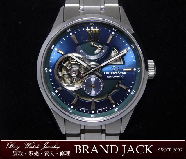 5ed1e6a0118e オリエントスター ORIENT STAR モダンスケルトン リミテッド 自動巻き メンズ腕時計 RK-DK0001L 世界. 34,000円