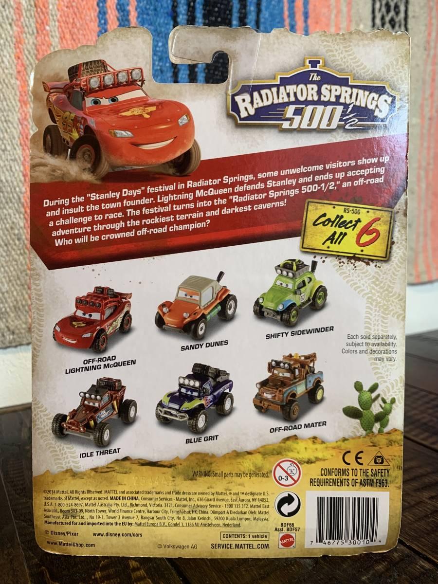 Disney Pixar Cars The Radiator Springs 500 1 2 Die Cast Idle Threat Mattel Bdf66 Toy Remote Control Play Vehicles Toys Games