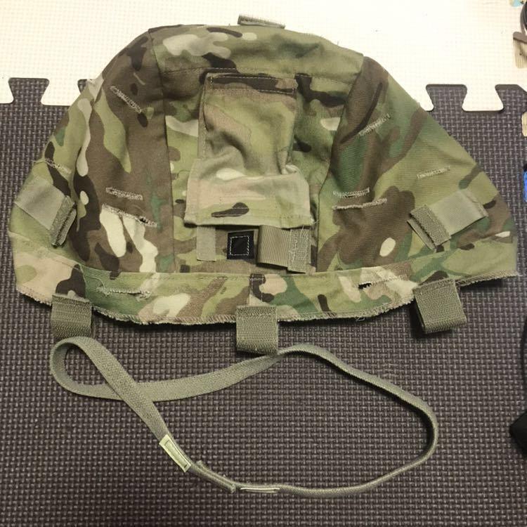 S//M Military MICH//ACH Multicam Helmet Cover