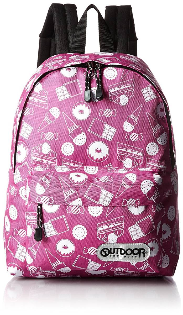 4388f16b2a [アウトドアプロダクツ] OUTDOOR PRODUCTS KIDS チアフルデイパック バックパック 子供 キッズ リュック かわいい ピンク