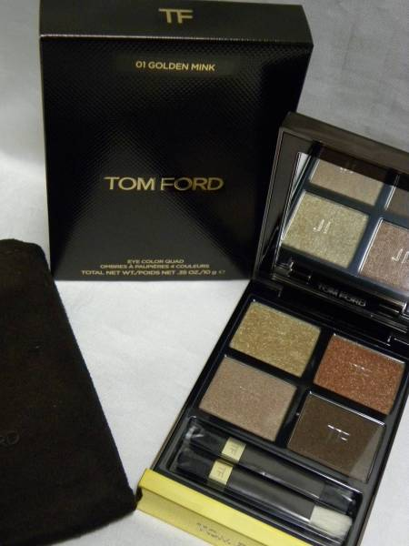 TOM FORD トムフォード クォード 10g アイ #01 ゴールデンミンク カラー GOLDEN MINK