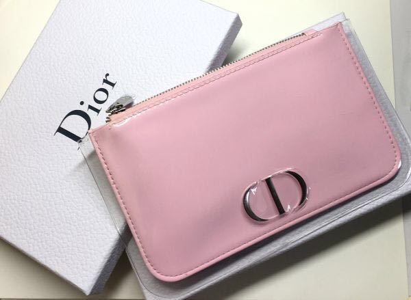 info for 75d30 4374a 新品】即決☆新品 Dior スケルトン パステルピンク コスメポーチ ...
