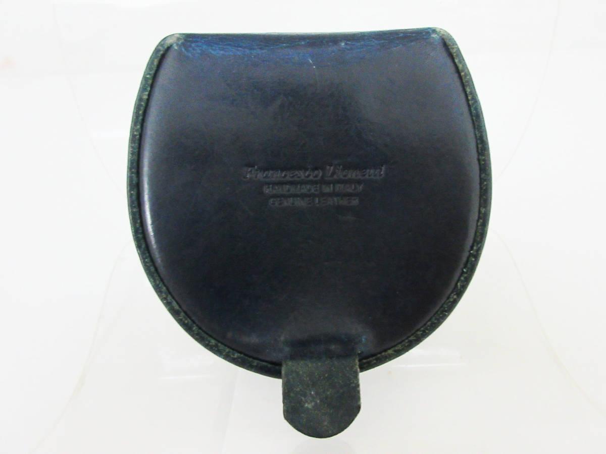 6a8d922f7189 ... F2606【コインケース】Francesco Lionetti フランチェスコリオネッティ☆ベロ型/馬蹄型 ...