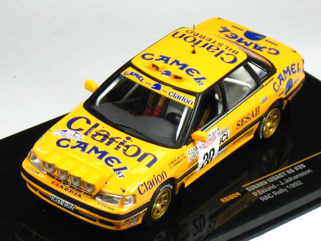 Subaru Legacy RS No 20 RAC Rally 1992