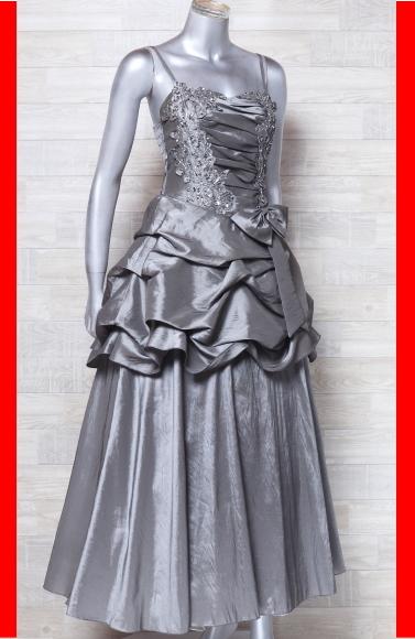 ce699309b820e キャミドレス 大きいサイズ カラードレス 光沢 パーティードレス ロングドレス ウエディングドレスの1番目
