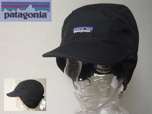affc2777d05 Patagonia パタゴニア SHELLED SYNCHILLA DUCKBILL CAP 22240 新品 BLK 帽子 キャップの1番目の画像
