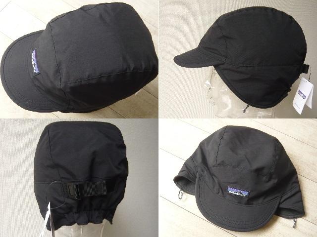 73bbf33d3f9 ... Patagonia パタゴニア SHELLED SYNCHILLA DUCKBILL CAP 22240 新品 BLK 帽子 キャップの2番目の画像  ...