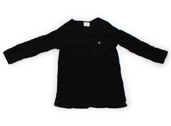 7c4591f3c0c3c ザラ ZARA Tシャツ・カットソー 110 女の子 黒 子供服 ベビー服 キッズ(308258)