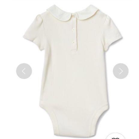 1ac12f9e08de3f ... 新品 baby gap 人気 完売 90 襟付きロンパース カバーオール ブラウス トップス ワンピース ベビーギャップ 女の子 ...