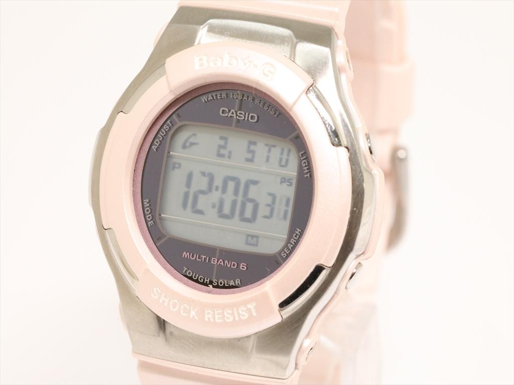 e3d2fb7a31 中古】【中古】カシオ ベビージー レディース腕時計 トリッパー BGD-1310 ...