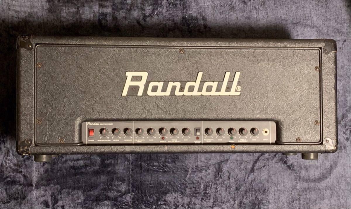 希少】Randall Century 200 II アンプヘッドPANTERA Dimebag Darrell