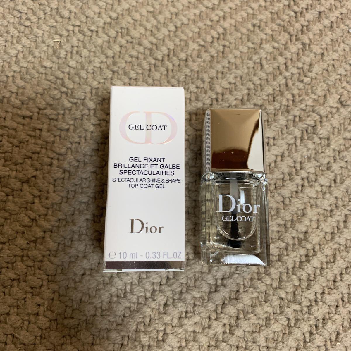 half off 2f637 748ee 新品】○ Christian Dior ディオール ジェルトップコート ネイル ...