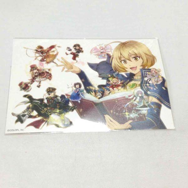 魔法使いと黒猫のウィズ イラストカード ハガキサイズ 折れあり P32434