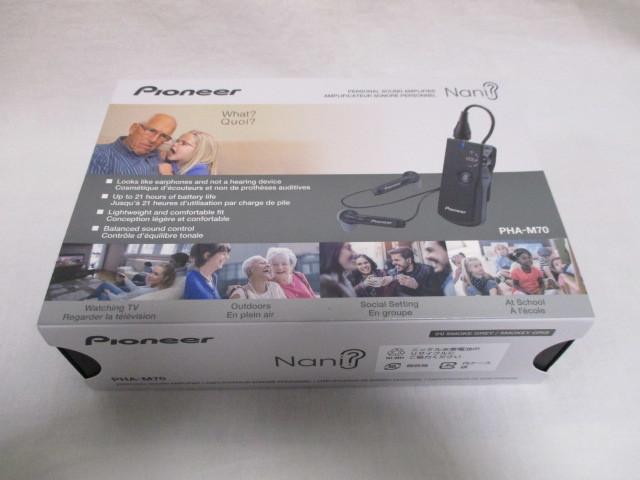Pioneer PHA-M70 MP3 Player Nero