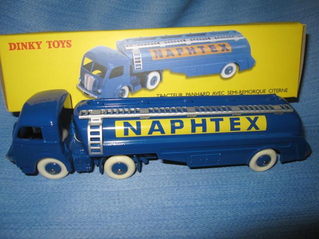 Dinky Toys 32cb Atlas Tracteur Panhard Naphtex Semi Remorque