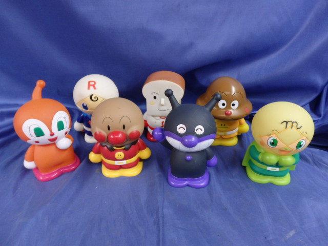 商品説明参照アンパンマン 貯金箱 ソフビ おもちゃ 人形 レア高さ約