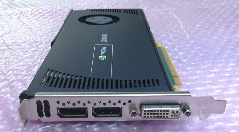 中古】NVIDIA Quadro 4000 後期モデル の落札情報詳細| ヤフオク