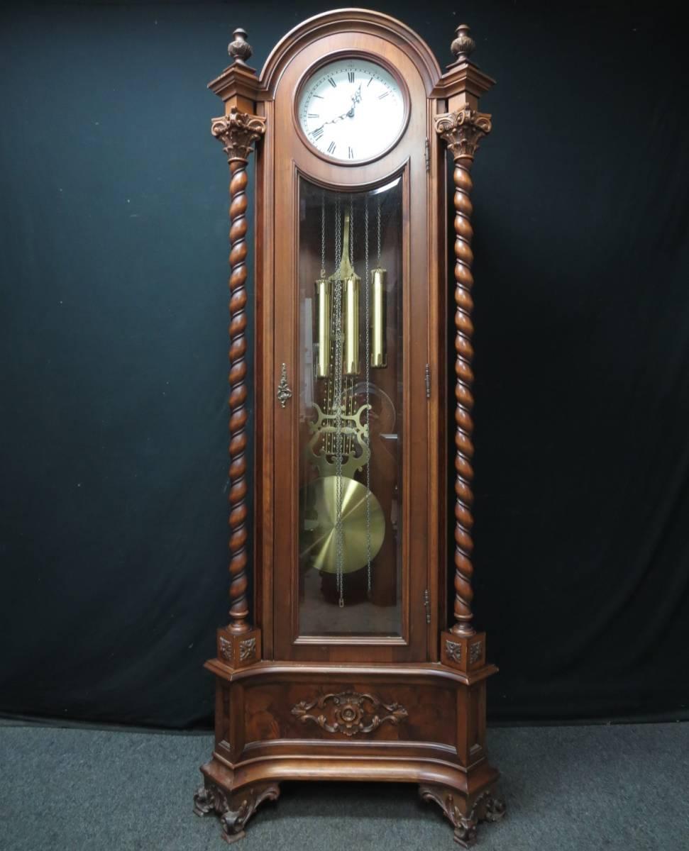 super popular 93203 3ca71 KJ263 高級柱時計 ドイツ製 ホールクロック URGOS 振り子時計 ...