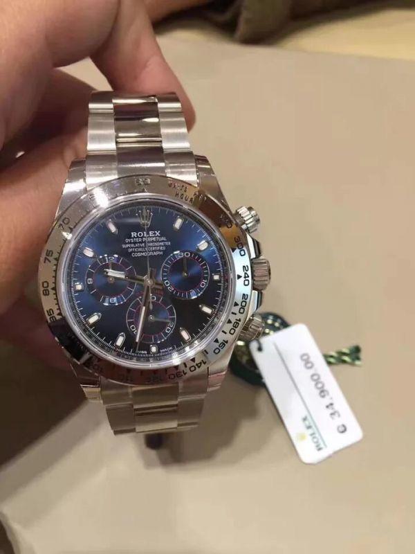 the latest 66787 ff021 新品】2018年阪急うめだ本店購入 ロレックス デイトナ コスモ ...