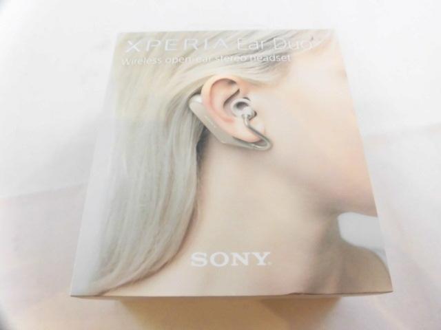 2ef825a9c9 ジャンク品▽ソニー SONY 完全ワイヤレスイヤホン Xperia Ear Duo XEA20JP 2018年モデル ゴールド