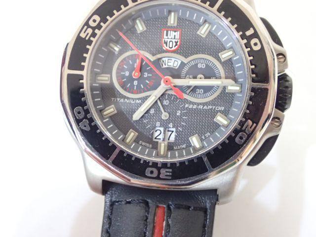 9dc408dfee ... LUMINOX 9280 F-22 RAPTOR ルミノックス ラプター チタン 腕時計 メンズ ロッキード・マーティンコレクション ○