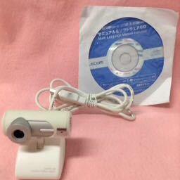 中古 G T F905 エレコム ウエブカメラ Cmos 130 1 3mega Pixels Usb2 0 パソコン周辺機器 Ucam Dlu130hwh の落札情報詳細 ヤフオク落札価格情報 オークフリー スマートフォン版