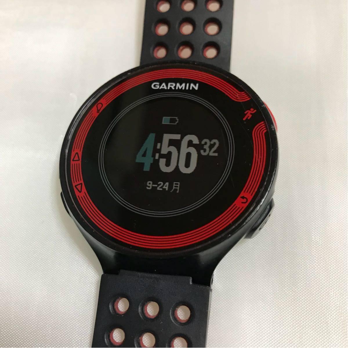 3401774831 ... GARMIN ForeAthlete 220J 黒赤 国内版 GPS ランニングウォッチ 防水 Bluetooth みちびき対応 Gセンサー  ...