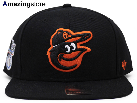 b8a0a7071cd44 OUTLET 100円スタート 47ブランド ボルチモア オリオールズ MLB SURE-SHOT SNAPBACK 47BRAND  BALTIMORE ORIOLES