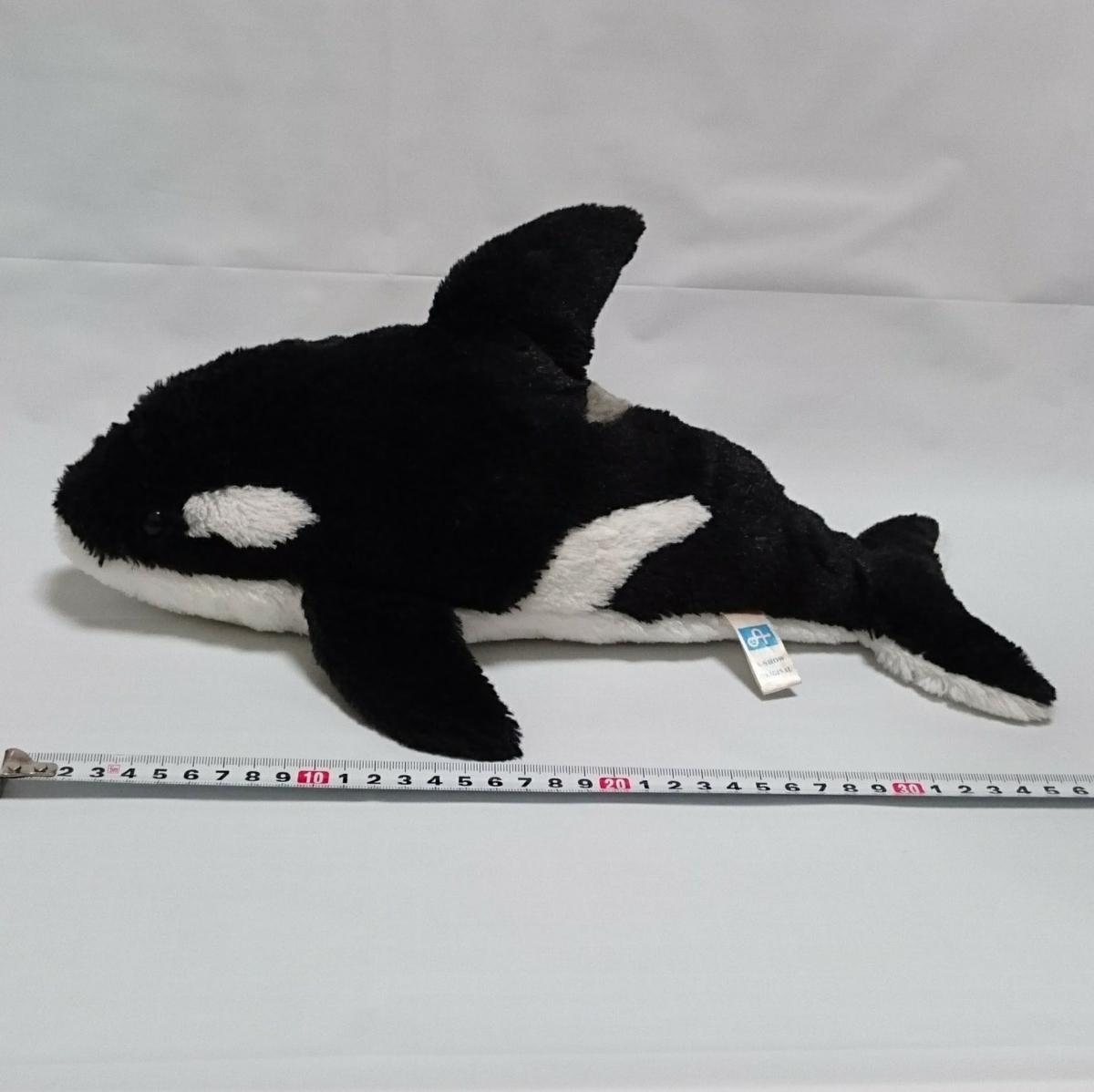 シャチ ぬいぐるみ A,SHOW ☆ オルカ 水族館 マスコットの1番目の画像