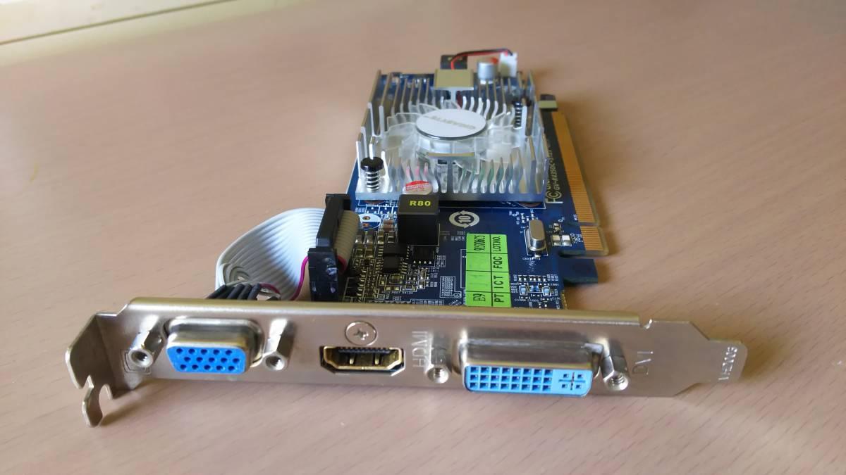 中古】GIGABYTE GV-R435OC-512I rev1 0 AMD Radeon HD 4350