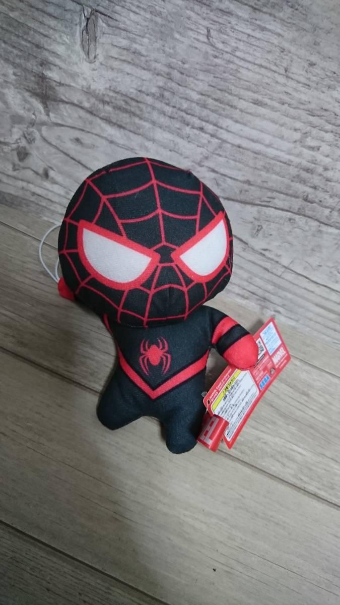 スパイダーマン逆さ Marvel Kawaii Art Collection ぬいぐるみ